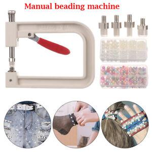 DIY Hand Tools Manual Pearl Bead Machine Manual Pearl Cap Clothing Beads