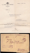 Austria Hungary 1913 Graz 8 Official Cover & Letter - State medical examination