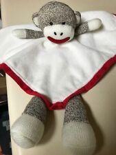 New listing Nice Baby Starters Sock Monkey Blanket