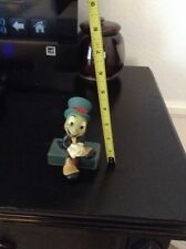 Jiminy Cricket Disney Wood Carved Figure Wooden Statue