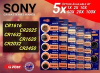 SONY CR2032 CR1616 CR2450 CR1620 CR1632 CR2025 CR 2016 CR2430 Lithium Batteries