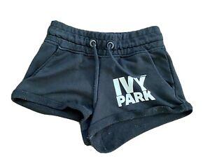 Ivy Park Black Jersey Shorts Size XS