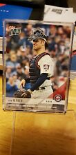 2018 Topps Now Joe Mauer #817 Twins Catches 1st Time in 5 Years Final Game??