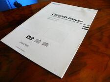 Sony DVP - S 7700 CD/DVD player  manual in English