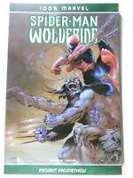 100% Marvel # 4 Spider-Man & Wolverine ( Panini ) Zustand 1