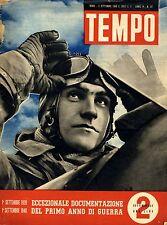 Eccezionale Documentazioni Del Primo Anno Di Guerra. 1° SETTEMBRE 1939 - 1° SETT