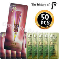 The history of Whoo Intensive Wrinkle Concentrate 1ml x 50pcs (50ml) New Cream