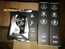 Black Latte Dry Drink 100g Black Charcoal Latte Hendel's Garden Russia Original