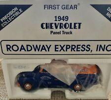 1949 Chevrolet Panel Truck Roadway Express Safety First Gear 1:34 10-1479