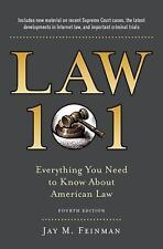 Law 101 by Jay M. Feinman Hardcover Book (English)