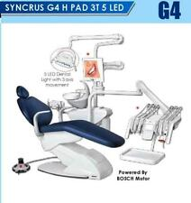 SYNCRUS G4 HE 3T 5 LED GNATUS DENTAL CHAIR WITH BOSCH MOTOR & 3 AXIS MOVEMENT