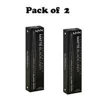 Pack of 2 NYX Collection Noir Matte Black Liner, BEL02
