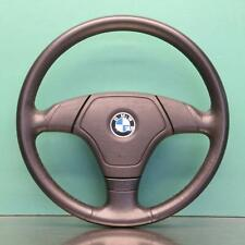 BMW 3 SERIES STEERING WHEEL #E5384 E36 (AIRBAG)3 SPOKE LEATHER