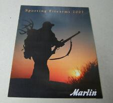 USED Marlin Sporting Firearms 2007 Catalog