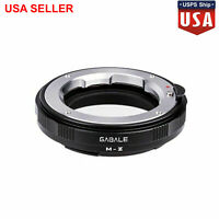 GABALE M-Z Adapter for Leica LM Zeiss M Series Lens to Nikon Z Mount Z6 Z7Camera