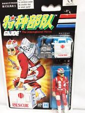"MOC GI JOE 3.75"" Chinese International Action Hero Figure RESCUE LIFELINE"