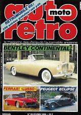 revue automobile: Auto Rétro. N°66 Février 1986
