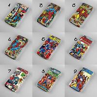 MARVEL COMICS SPIDER MAN PHONE CASE COVER IPHONE 4 4s 5 5s 5c 6 SAMSUNG S3 S4 S6