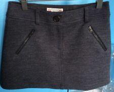 Bonpoint Designer Girls Charcoal Grey Skirt Size 10