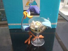 Extremely Rare! Looney Tunes Road Runner with Glass Demons & Merveilles Statue
