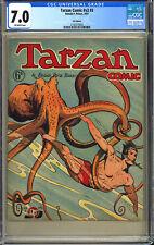 Tarzan Comic Vol. 2 #3 Rare Golden Age British U.K. Edition Peters 1951 CGC 7.0