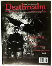 DEATHREALM #19 Fall'93  D F Lewis, Karl Edward Wagner, Douglas Clegg, Rex Miller