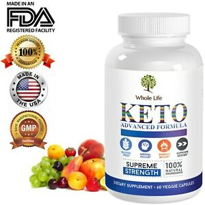 Shark Tank KETO Diet Pills Best BHB Ketogenic Weight Loss Fat Burner Capsule