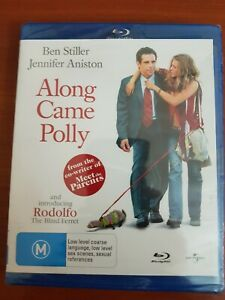 ALONG CAME POLLY BLU RAY -NEW & SEALED BEN STILLER MINOR DAMAGE TO BOX FREE POST