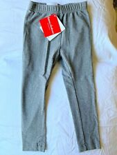 Hanna Andersson 100 4T New NWT Classic Leggings Medium Solid Gray