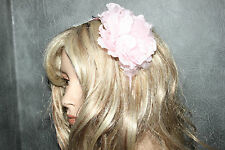 Ladies Pink BHS Flower Hair Fascinator on Headbead Wedding Mother of the  Bride 8ca7740bab2