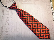 Childrens infant toddller boys tie red skate checkered rock photo prop wedding
