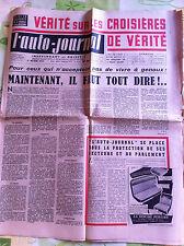 >L'AUTO-JOURNAL n°96 du 2/1954; Essai Salmson/ Salon de New York/ Coupe d'europe