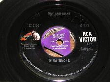 Nina Simone 60s POP VOCAL 45 Day and Night / Do I Move