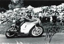 Giacomo Agostini Hand Signed MV Agusta 12x8 Photo 6.