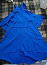 bnwt fearne cotton blue dress size 12
