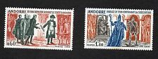 Andorra French Administration Scott 159-160, MNH, Bishop and Seigneur.