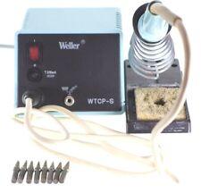 Weller WTCP-S Lötstation 50W + Lötkolben TCP-S + Lötkolbenhalter + 8x Lötspitzen