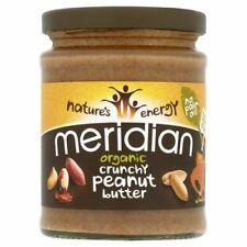 Meridian Organic Crunchy Peanut Butter 100% - 280g