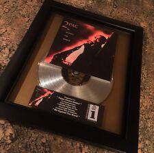 Tupac Shakur 2Pac Platinum Record Disc Album Music Award MTV Grammy RIAA Jay Z