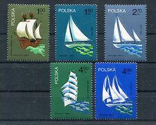 polonia 1974 velieri polacchi 2317-21 MHN