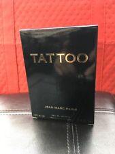 Tattoo /Jean Marc Paris Eau de toilette For Men 3.4 Oz EDT Spray