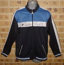 QUIKSILVER LARGE MENS ZIPPED TOP ZIPPED JACKET BLUE PRE OWNED CLEAN