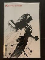 (2020) BATMAN DARK NIGHTS DEATH METAL #3 1:100 Capullo Variant Sketch Cover!