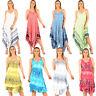 LADIES LAGENLOOK DRESSES WOMENS BEACH SUN DRESS TUNIC SUMMER KAFTANS DRESS TOP