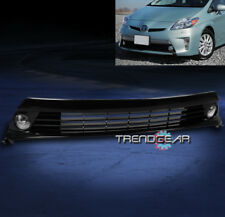2012-2015 TOYOTA PRIUS BUMPER CHROME FOG LIGHT+GRILLE GRILL W/HARNESS+SWITCH KIT