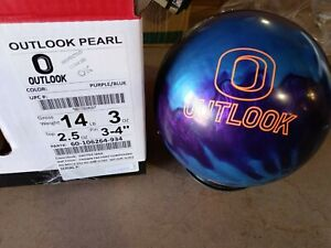 14lb Columbia 300 Outlook Pearl Bowling Ball Brand New!