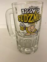 Vintage Ziggy  Glass - Ziggy's Sudz Mug- 1979- Beer/root beer Mug