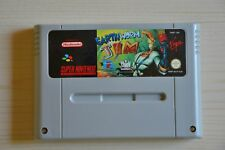 SNES-Earthworm Jim para Super Nintendo