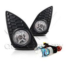 2012-2014 Yaris 4 Door SE Fog Lights w/Wiring Kit & HID Conversion Kit - Clear