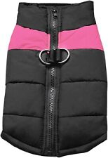 Cold Weather Dog Warm Vest Jacket Coat Pet Winter - 3XL - Pink - See Size Chart